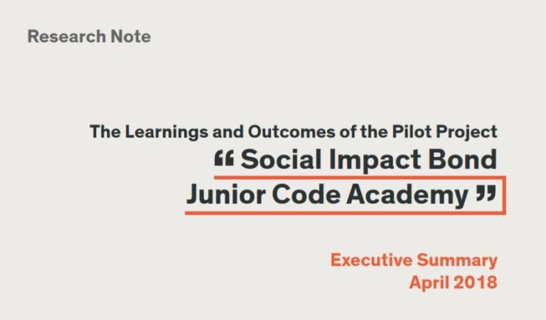 Junior Code Academy SIB Learnings and Outcomes