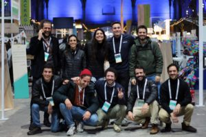 The Maze X team and founders at Change NOW summit 2020 in Paris