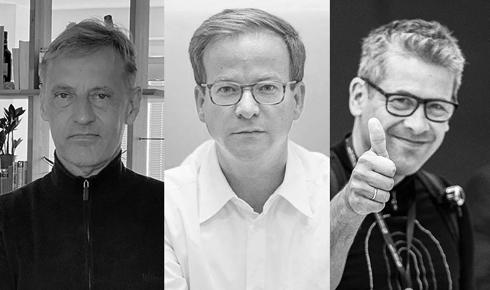Markus Mueller, Jochen Seemann and Christian Ehl  Co-founders of Nui Care,